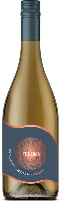 Te Henga Wines Hawkes Bay Chardonnay bottle