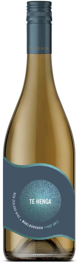 Te Henga Wines Marlborough Pinot Gris bottle
