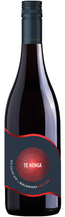 Te Henga Wines Marlborough Pinot Noir bottle