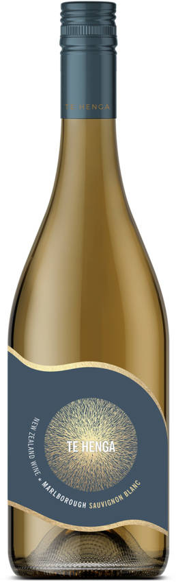 Te Henga Wines Marlborough Sauvignon Blanc bottle
